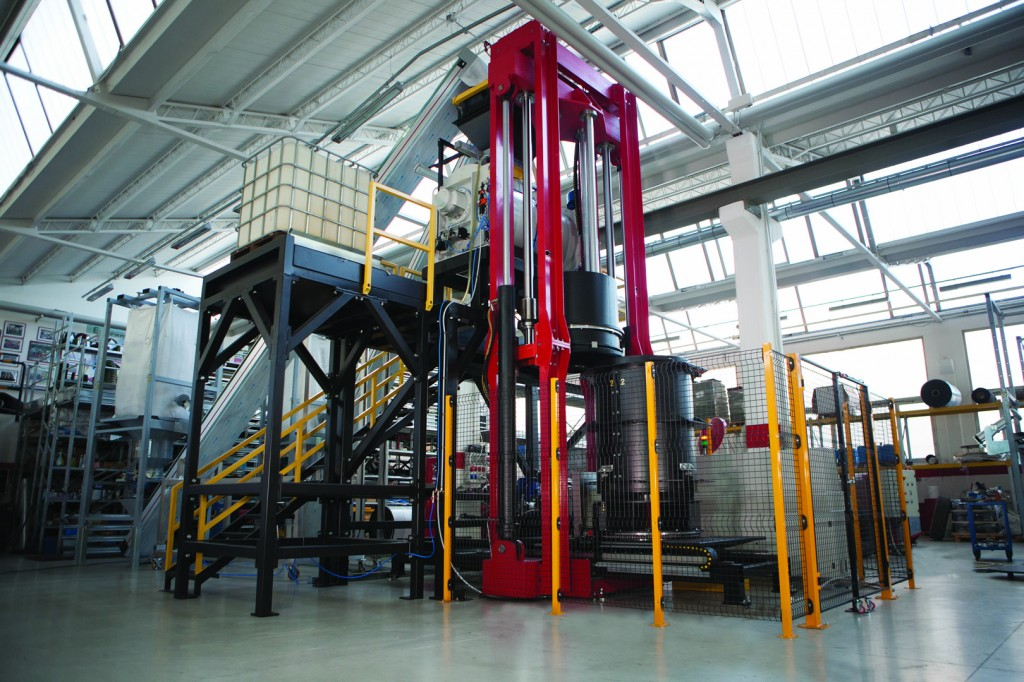 Thermo - acoustic sheath production plant