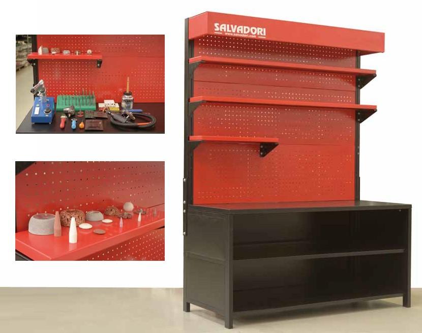 Tire repair cabinet - Tyre repair cabinet - Salvadori