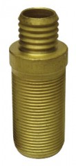 Straight tubing connector