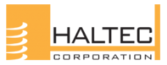 Haltec Valves and accessories