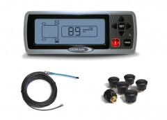 TPMS kit for OTR tires - 6 wheels