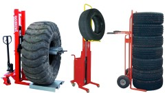 Tyres carriers