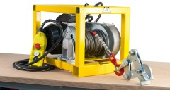 Electric winch - 25m rope and up to 500 KG capacity